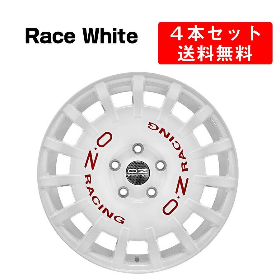 【最安値】 Rally Racing 19インチ アルミホイール 4本セット 19インチ 8x19J インチ Rally 8x19J 5穴 ダークグラファイトシルバー/レースホワイト イタリア製 OZ オーゼット ラリーレーシング DarkGraphiteSilver/RaceWhite OZ Racing, レナウンインクスショップ:4df0e7ed --- lms.imergex.tech