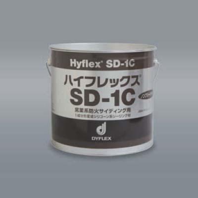 1成分形変成シリコーン系 窯業系防火サイディング用 ハイフレックス SD-1C 4L×2缶