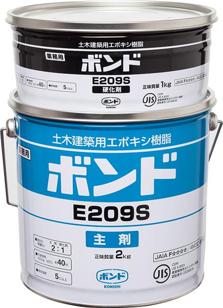 エポキシ | コニシボンド E209 3kg×4セット 高粘度(グリス状) SS・S・W【北海道沖縄離島は別途】