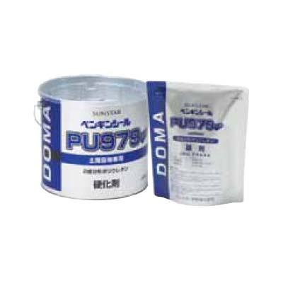 【全4色】サンスター ペンギンシール (2成分形ポリウレタン) PU979 4L×2缶 金属缶+トナー(200g×2個)セット