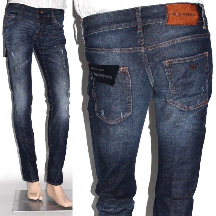 regular fit jeans - Blue Emporio Armani Free Shipping Cheap Cheap Sale Pick A Best Cheapest For Sale Buy Cheap Clearance Store wc90RiMPU6