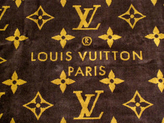 Louis Vuitton Large Beach Towel M72364 Monogram Brown Lv Draduvanmono G Clic