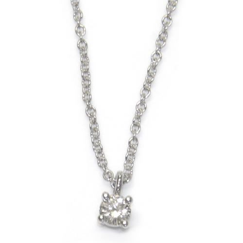 Select shop cavallo rakuten global market tiffany solitaire tiffany solitaire diamond pendant necklace 012 ct 16 in pt platinum 14001557 aloadofball Choice Image