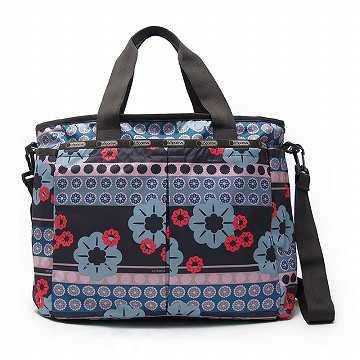 レスポートサック LeSportsac 7532 D448 Ryan Baby Bag マザーバッグ Folk Flora *【c】【新品・未使用・正規品】