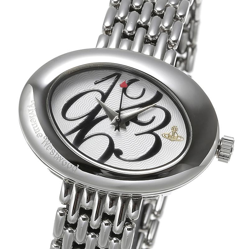 エントリーポイント10倍!ヴィヴィアンウエストウッド 腕時計 eellipse womens watch VV014 WHSL 【c】【新品・未使用・正規品】