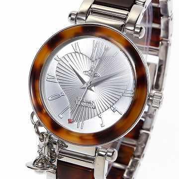 エントリーポイント10倍!ヴィヴィアンウエストウッド Vivienne Westwood orb womens watch 腕時計VV006 SLBR *【c】●【新品・未使用・正規品】