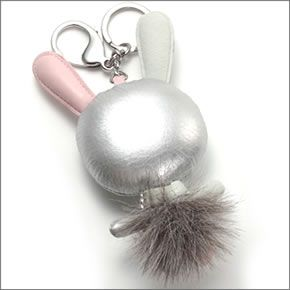 cab19bfd5a8 ... Mathilde Silver Swarovski g form a three-dimensional ♪ Crystal Bunny ' Mathilde' bag ...