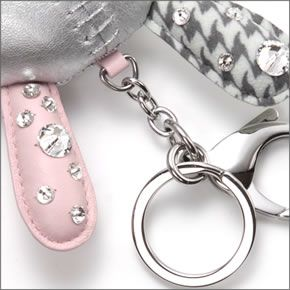 50748cc6fcf ... Mathilde Silver Swarovski g form a three-dimensional ♪ Crystal Bunny ' Mathilde' bag