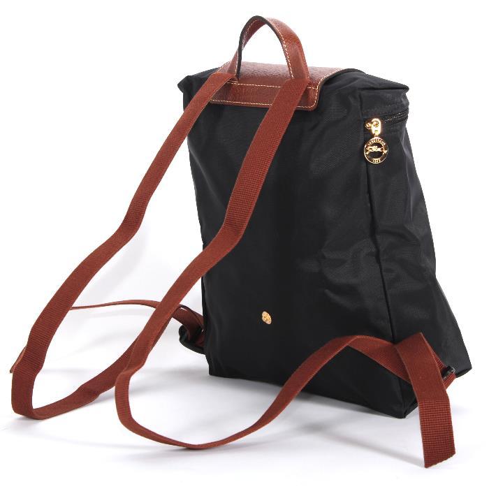 75a2e4b3ba9b Longchamp Longchamp backpack 1699 089 001 black LE PLIAGE Le pliage backpack