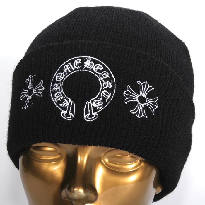 c7e0af1ac CHROME HEARTS chrome Hertz wool knit hat 11th Armored Cavalry Regiment Shoo  2238-304- ...