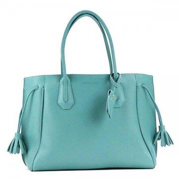 140f5754b LONGCHAMP Longchamp 1297 843 282 PENELOPE tote bag BL blue shoulder bag ...