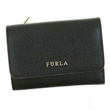 FURLA フルラ PR76 BABYLON BK 872817ブラック三つ折り財布【c】【新品/未使用/正規品】