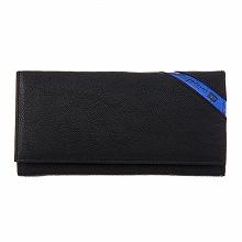 ディーゼル DIESEL X03608 P1221 H6169 長財布 Black/Cobaltoブラックブルー【c】【新品/未使用/正規品】