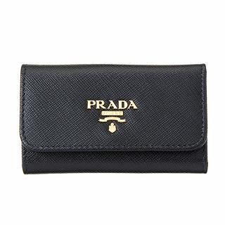 プラダ PRADA 1PG222 QWA F0002 キーケース NERO【c】【新品・未使用・正規品】