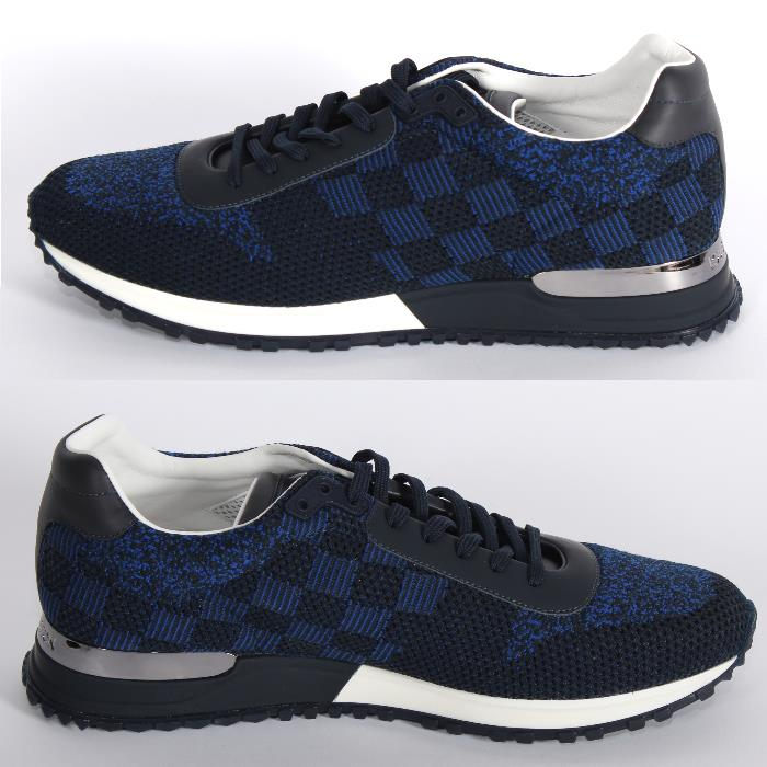 6a52e4c6bb18e LOUIS VUITTON Louis Vuitton orchid away sneakers blue running shoes shoes  men marketable goods