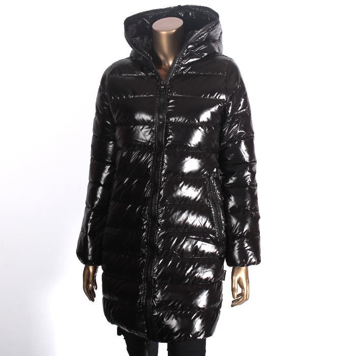Select Cavallo Length Shop Down Lady's Jacket フルジップセミロング fCqzT7crpf