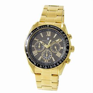 サルバトーレ・マーラ Salvatore Marra Marra Marra SM15116-GDBKGD メンズ 電波ソーラー 腕時計【r】【新品・未使用・正規品】 5ab