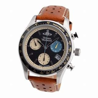 ヴィヴィアンウエストウッド Vivienne Westwood VV142BKTN メンズ クロノグラフ 腕時計【r】【新品・未使用・正規品】