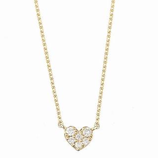 マレア リッチ Marea rich 14KJ-12 K10×ダイアモンド ハート ネックレス ペンダント Precious Heart Necklace【r】【新品/未使用/正規品】