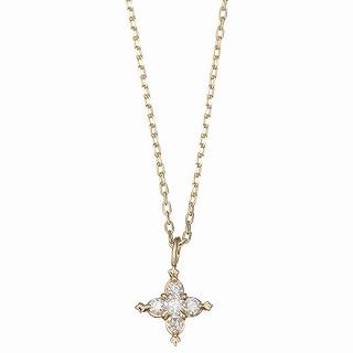 マレア リッチ Marea rich 16KJ-03 K10×ダイアモンド スターモチーフ ネックレス ペンダント Precious Star Necklace【r】【新品/未使用/正規品】