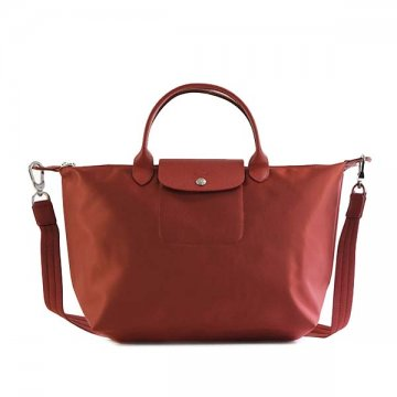ロンシャン Longchamp 1515 578 545 LE PLIAGE NEO REDハンドバッグ【】【新品/未使用/正規品】