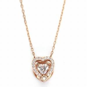 スワロフスキー SWAROVSKI 5284188 ダンシングクリスタル クリスタルパヴェ ハート ネックレス ペンダント Sparkling Dance Heart【r】【新品・未使用・正規品】