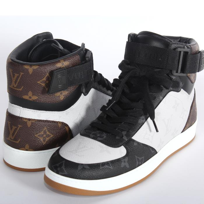 825e3c853f3cb LOUIS VUITTON Louis Vuitton-limited higher frequency elimination sneakers  1A44VS black white brown monogram men shoes shoes marketable goods