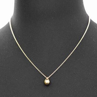 7a75e6086d72 Tiffany TIFFANY CO 38088831 Tiffany HardWear ball pendant necklace (18KYG)  approximately 41-46cm