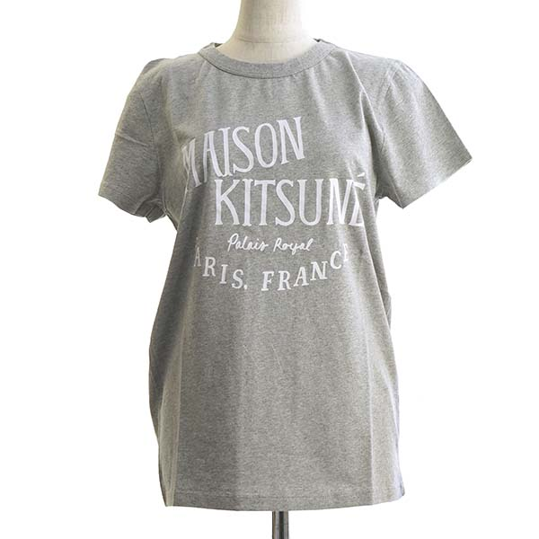 メゾンキツネ PALAIS ROYAL L Tシャツ GYグレー【】【新品/未使用/正規品】