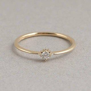 マレア リッチ Marea rich 18KJ-02 #10 K10×ダイアモンド リング 指輪 10号 Precious Collection【r】【新品・未使用・正規品】