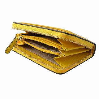 877b5acaa1cc Michael Kors MICHAEL KORS 32T8GF6Z1L 719 Sunflower MK logo zip up coin card  case
