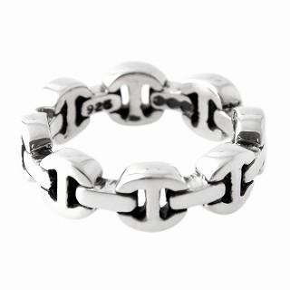 ホーセンブース HOORSENBUHS HB002/ 8 トライリンク リング 指輪 US8 (日本サイズ16号相当) DAME TRI LINK【r】【新品・未使用・正規品】