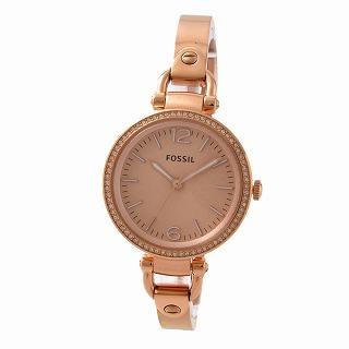 フォッシル FOSSIL ES3226 ジョージア レディース 腕時計【r】【新品・未使用・正規品】