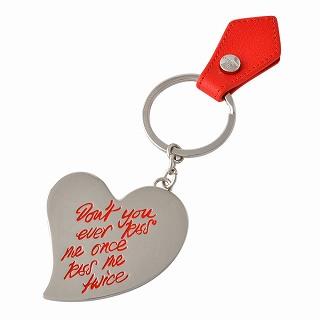 ヴィヴィアン ウエストウッド Vivienne WestWood 390070 RED ハートモチーフ キーリング バッグチャーム GADGET HEART KEY RING【r】【新品・未使用・正規品】