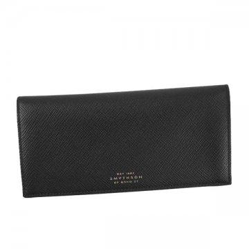 スマイソン 1020113 PANAMA フラップ BLACK長財布【】【新品/未使用/正規品】