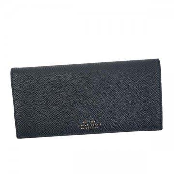 スマイソン 1020114 PANAMA フラップ NAVY長財布【】【新品/未使用/正規品】