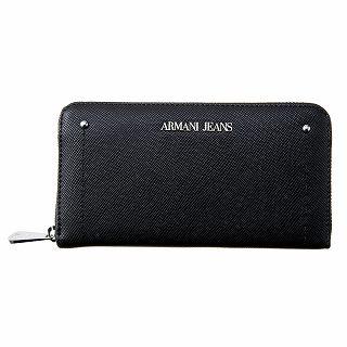 アルマーニジーンズ ARAMANI JEANS 928032 CD756 00020 長財布 BLACKブラック【c】【新品・未使用・正規品】