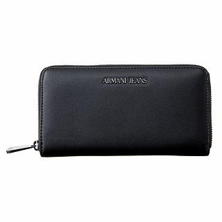 アルマーニジーンズ ARAMANI JEANS 928088 CD757 00020 長財布 BLACKブラック【c】【新品・未使用・正規品】