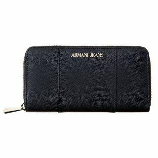 アルマーニジーンズ ARAMANI JEANS 928588 CD857 00020 長財布 BLACKブラック【c】【新品・未使用・正規品】