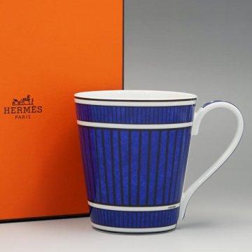 エルメス 030238P ブルーダイユール マグマグカップ【】【新品/未使用/正規品】