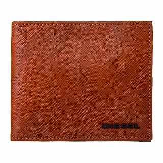 ディーゼル DIESEL X05373 P0517 H6710 二つ折り財布 ブラウン【c】【新品/未使用/正規品】
