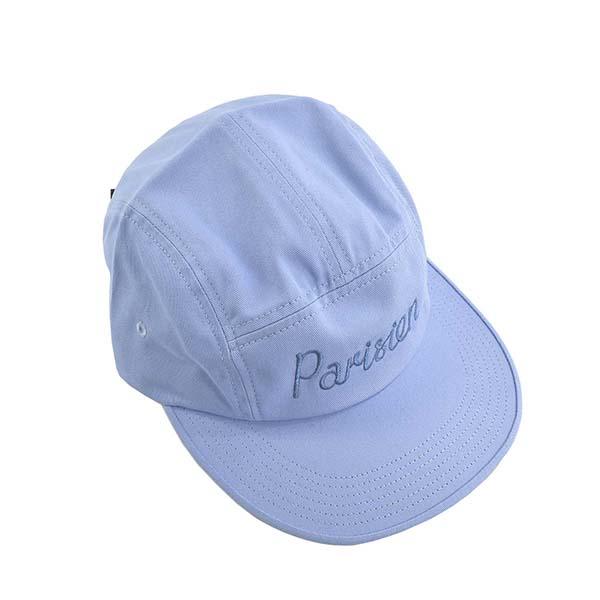メゾンキツネ CU06101WW PARISIEN キャップ L.BL帽子ライトブルー【】【新品/未使用/正規品】