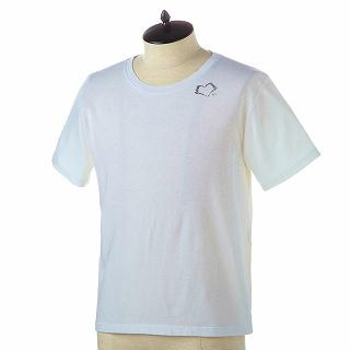 SAINT LAURENT PARIS サンローラン Tシャツ 557491 YBAQ2 9744 NATUREL-NOIRホワイト【c】【新品・未使用・正規品】