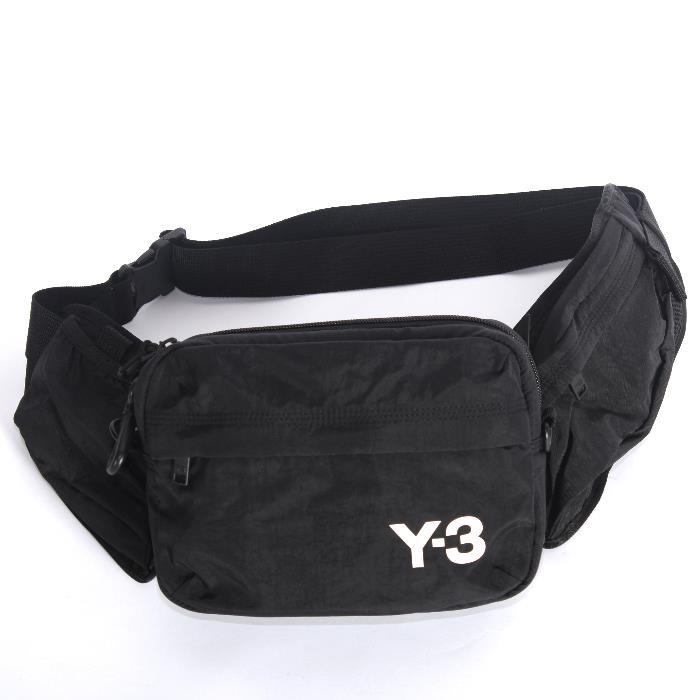 Y-3 ワイスリー ボディバッグ ブラック FH9244 スリングバッグ ウエストポーチ ショルダーバッグ サコシュ yohji yamamoto【c】【新品/未使用/正規品】