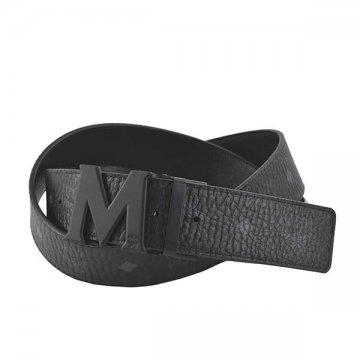 MCM MXB7SVI10 BK BK001ベルト【】【新品/未使用/正規品】
