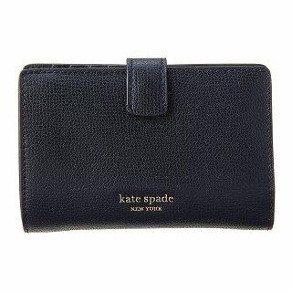 当店は最高な サービスを提供します セール価格 2019 KATE SPADE ケイトスペード 二つ折り財布 PWRU7230 BLACKブラック 新品 001 正規品 未使用 c