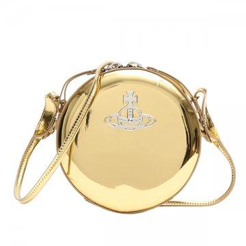 ヴィヴィアンウエストウッド Vivienne Westwood 43030030 JOHANNA GOLD斜めがけショルダーバッグ【】【新品/未使用/正規品】