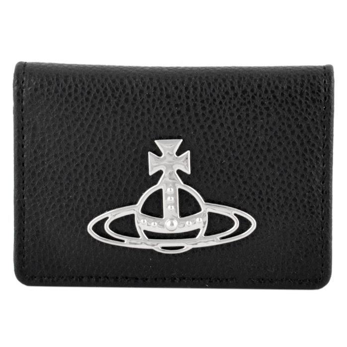 ヴィヴィアン ウエストウッド Vivienne Westwood 51110020 41018 N401 BLACK カードケース KELLY SMALL CREDIT CARD【r】【新品/未使用/正規品】