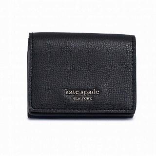 ケイトスペード kate spade PWRU7395 001 二つ折り財布ブラック【c】【新品/未使用/正規品】