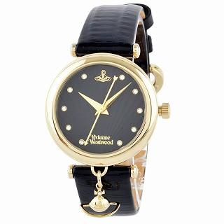 エントリーポイント10倍!ヴィヴィアンウエストウッド Vivienne Westwood VV108BKBK レディース 腕時計【r】【新品/未使用/正規品】